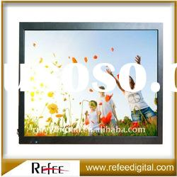 15 inch Wall Mount Advertising LCD Media Player Digital Signage
