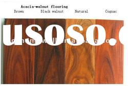 18mm Chinese Walnut/acacia solid wood flooring