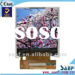 """1.44""""128*(RGB)*128 SQQVGA Portrait color display mobile phone LCD module with TP"""