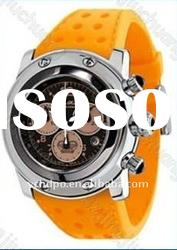2011 best promotion gift watch with silicone watch strap