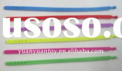 2011 new Cheap promotional products rubber bands bracelets