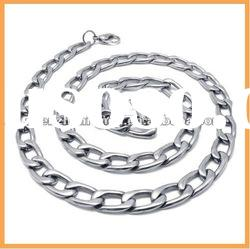 2012 Fashion simple 316 stainless steel men's dollar chain necklace