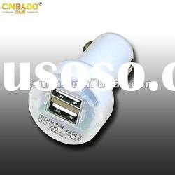 2012 New Dual USB Car Charger for iPad