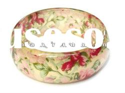 2012 fashion resin lady bangle,fashion resin bangle,newest resin bangle bracelet