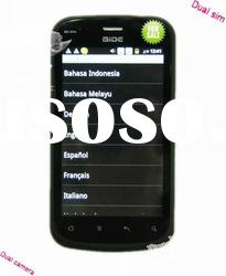 2012 gps wifi smartphone with touch screen dual sim