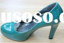 2012 latest style ladies high-heel shoes
