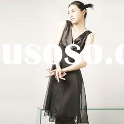 2012 latest women's long fashion dress
