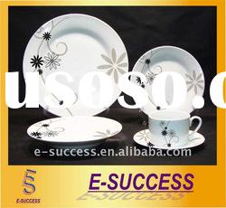20pcs handmade porcelain dinnerware, porcelain dinnerware set