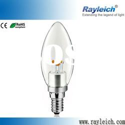 3W dimmable led candle bulb e14 with triac dimmer