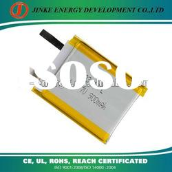 3.7v 2050mAh Lithium ion polymer battery cell 603443