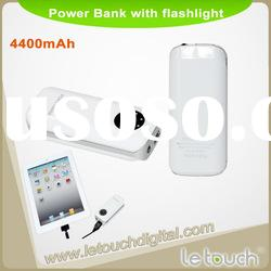 4400mah universal battery pack for iphone(with LED flashlight)