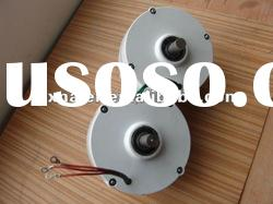 600w 12v/24v brushless ac rare earth permanent magnet alternator/ alternative energy generator
