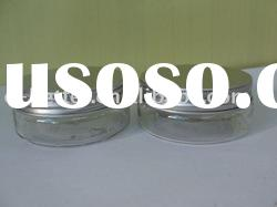 60ML pet cream jar with aluminum cap