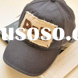 6 Panels Baseball Cap with Applique