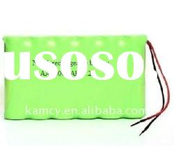 7.2v nimh rechargeable battery pack with 1600mah