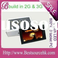 """7"""" Tablet PC Phone MID ALLWINNER A10 with 2G & 3G phone function"""