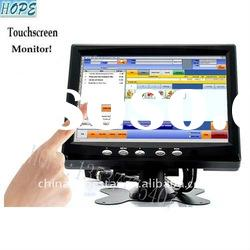 7 inch TFT lcd monitor with touch screen