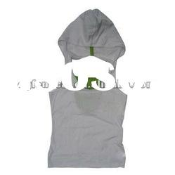 95% cotton 5% spandex ladies 95% cotton 5% spandex racer back hooded tank top