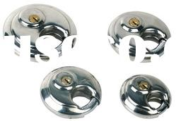 AJF 70mm stainless steel discus padlock with high quality and hardened steel for cabinet lock