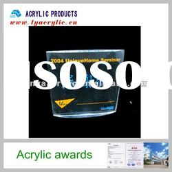 Absolutely clear models acrylic trophies medal plaques