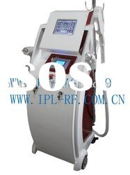 All in one ipl+elight+rf machine ND YAG laser tattoo removal machine