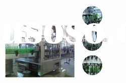 Automatic Beer Filling Machine for Glass Bottles