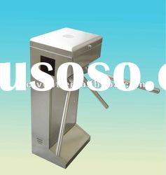 Automatic card reader access control turnstile