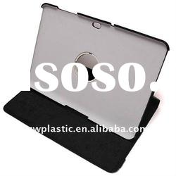 Black leather case for galaxy tab