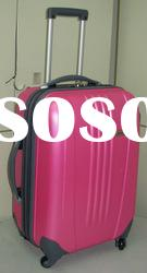 Bright color ABS+PC travelling trolley luggage & Fashion ladies travel luggage
