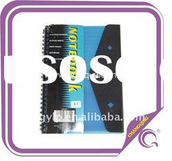 Button Lock PP Cover Spiral Notebook