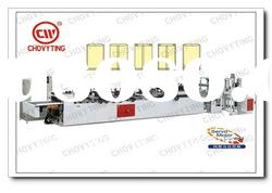 CWZD-400A three Side & Central Sealing Bag Making Machine