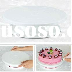 Cheap Plastic Revolving Cake Turntable