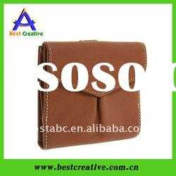 Christmas business name card purse pure leather holder wallet