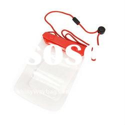 Clear PVC Waterproof Bag for Mobile Phone