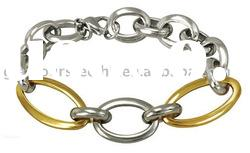 Cool stylish NEW classic chain and link bracelet men and women stainless steel jewelry supplier