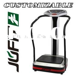 Crazy Fit Massage Manual Vibration Plate with red stripe Best-selling Gym Fitness Equipment