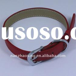 Cute PU Leather Pet Collar and Leash PC0002H