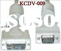 DVI Cable DVI-A to HD15 VGA Cable(KCDV-009)