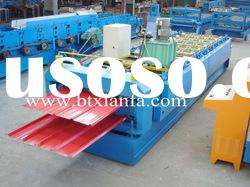 Double deck roofing roll forming machine XF840/900
