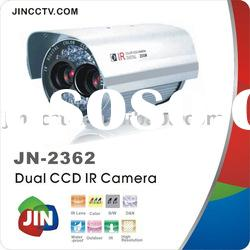 Dual-CCD IR Waterproof CCTV Camera JN-2362S