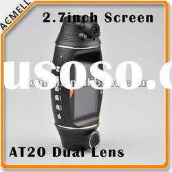 Dual Lens GPS dual cam car dashboard camera