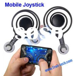 Dual Plastic Fling Mini Joystick Game Joystick for iPhone/iPad/ Touch Screen