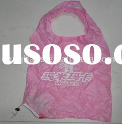 Eco polyester folding shopping bag