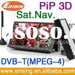 Erisin ES996D Anti-Theft 2 Din Car DVD System DVB-T(MPEG-4&MPEG-2) Bluetooth GPS 3D Rotating