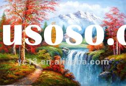 Excellent artwork landscape oil painting on canvas ct-14