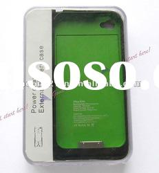 External Backup 1900mAH Battery Charger Case Cover Charger For iPhone4G 4GS 4S