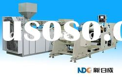Extrusion type hot melt coating machine