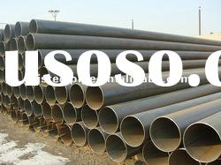 Factory manufacture ASTM A53, A106, API 5L erw steel pipe