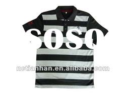 Fashion Design Yarn Dyed Polo Shirt
