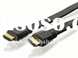 Flat 6ft 24K Gold HDMI Cable 1080p